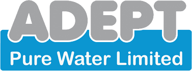 Adept Pure Water Logo